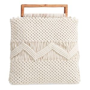 NEW Shiraleah Om Frame Handle Bag